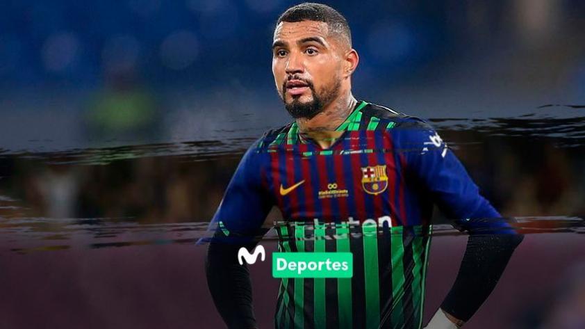 ¡Sorpresa en el mercado de fichajes! Kevin-Prince Boateng ya sería nuevo jugador del FC Barcelona