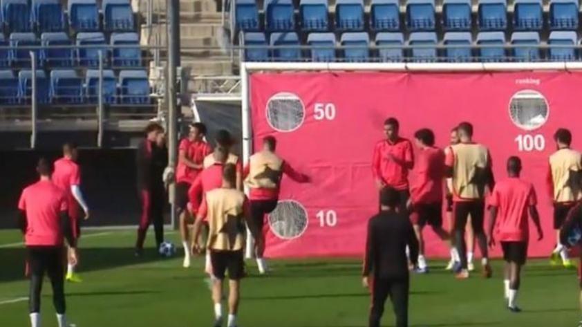 Tensión en Real Madrid: Sergio Ramos se enfadó por golpe casual de un canterano (VIDEO)