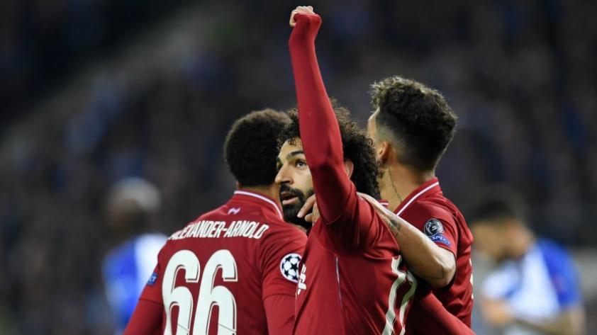 Liverpool entre los 4 mejores: los 'Reds' vencieron categóricamente al Porto por los cuartos de final vuelta de la Champions League