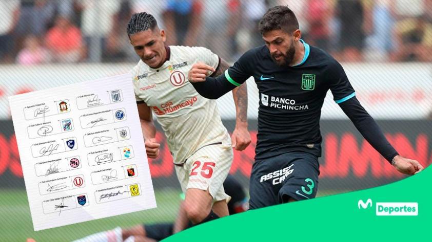 Liga 1 Movistar: clubes reconocen el apoyo de la televisión a través de un comunicado a la opinión pública
