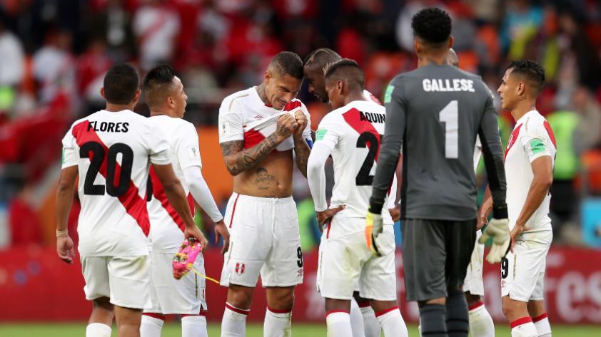 Perú cayó ante Francia 1-0 por la segunda fecha del grupo C de Rusia 2018