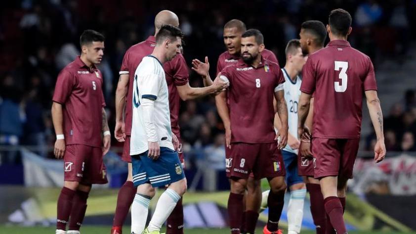 ¡Con el pie derecho! Venezuela se impone por 3-1 contra Argentina en el Wanda Metropolitano
