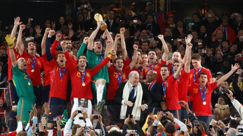 Un día como hoy España se proclamaba campeón del Mundial Sudáfrica 2010