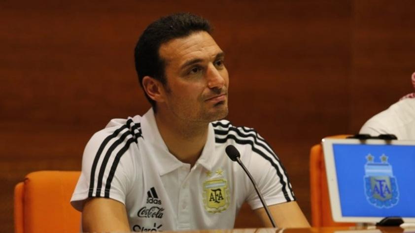 Lionel Scaloni, entrenador de Argentina: