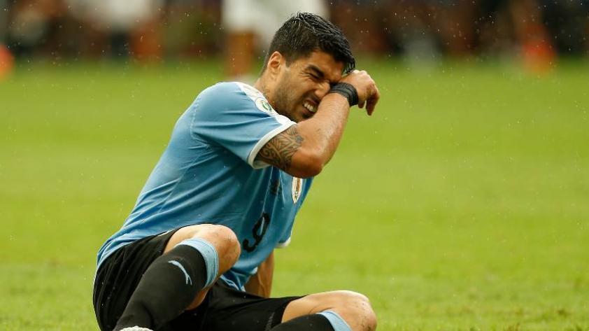Luis Suárez lamentó la eliminación de Uruguay en la Copa América