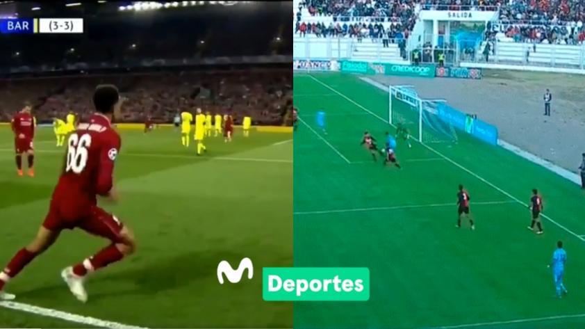 El VIRAL que compara un gol de Binacional con el de Liverpool en Champions League (VIDEO)