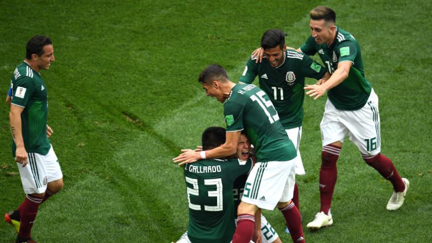 México derrotó 1-0 a Alemania por el grupo F de Rusia 2018