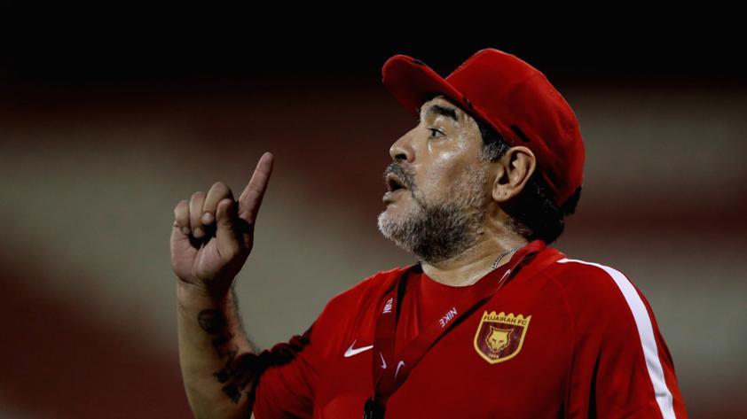 """Diego Maradona: """"Contra la Selección Peruana no será fácil"""""""