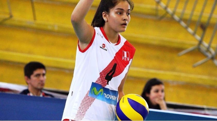 Seleccionada nacional juvenil de Vóley, Alessandra Chocano, falleció esta mañana