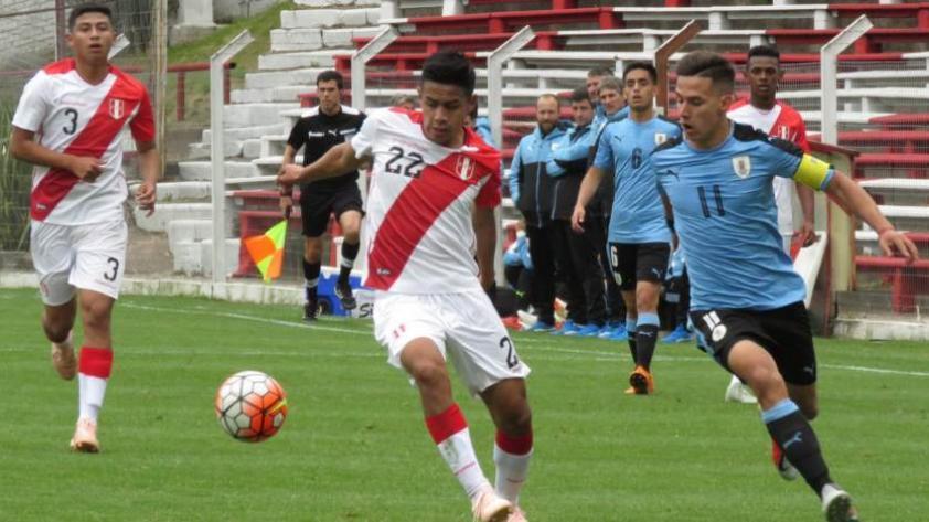 Selección Peruana: Sub-20 perdió 3-1 en amistoso contra Uruguay