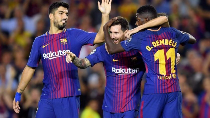 Barcelona derrotó 3-0 a la Juventus en el inicio de la Champions League