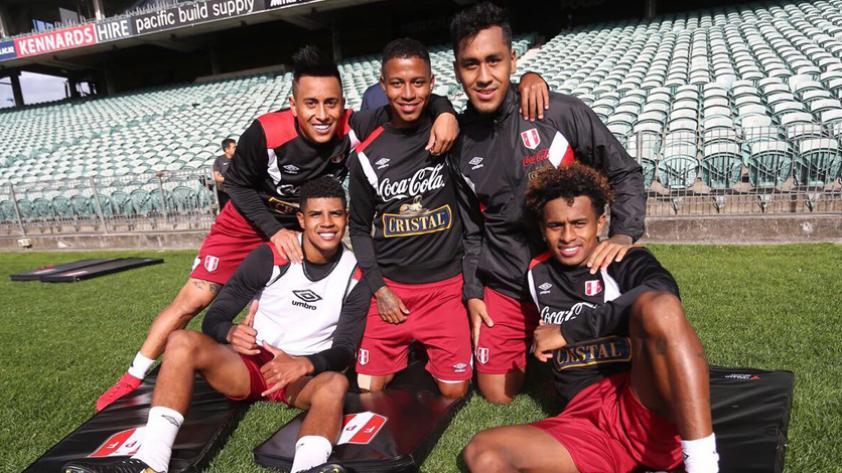 Selección peruana: la bicolor empezó los entrenamientos en Nueva Zelanda