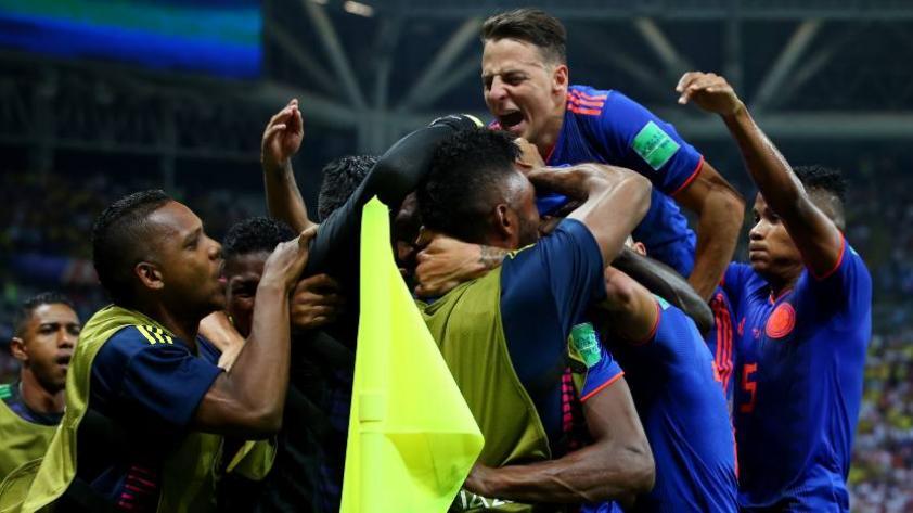 Colombia gana 3-0 a Polonia en la segunda jornada del grupo H