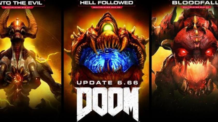 Doom: Update 6.66 trae todos los DLC multijugador gratis
