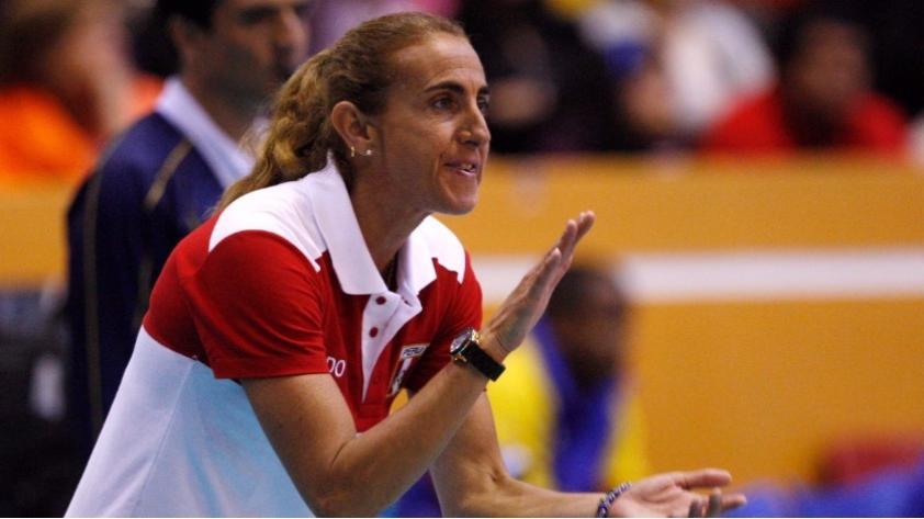 Natalia Málaga y su balance del segundo puesto de la sub 16 de vóley:
