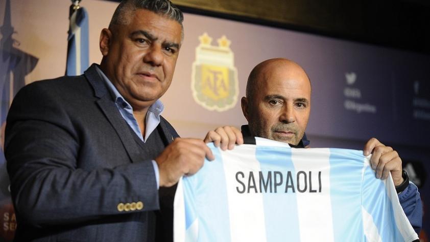 Jorge Sampaoli fue presentado en Argentina y habló sobre Icardi y Messi