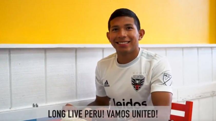 Mostrando la cultura y el fútbol peruano: Así se presentó Edison Flores al D.C United (Video)