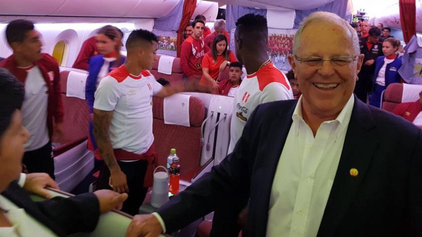 PPK a la selección peruana: