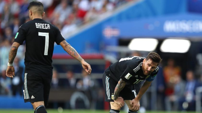 Argentina empata 1-1 contra Islandia  en el primer partido del grupo D de Rusia 2018