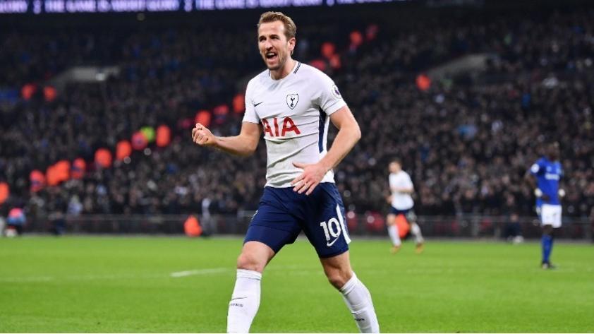 Harry Kane fue escogido como el mejor futbolista de Inglaterra del 2017