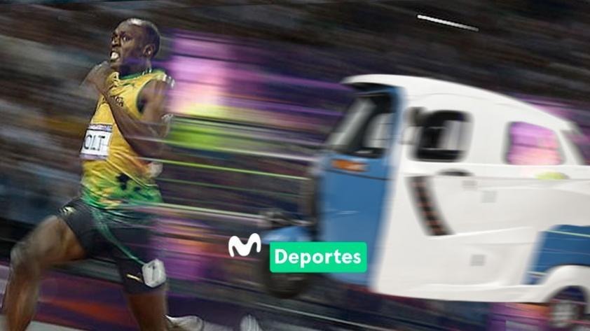 Usain Bolt llega a Lima para enfrentarse en una carrera de velocidad con un mototaxi