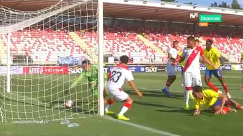 ¿Fue gol o no?: la polémica anotación de Ecuador ante Perú que fue validada por el árbitro