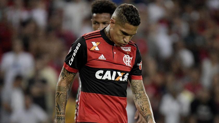 Paolo Guerrero volvió a sentirse en los entrenamientos del Flamengo