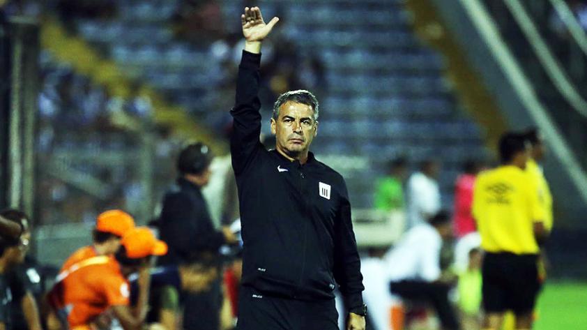 Pablo Bengoechea ya piensa en el clásico del fútbol peruano