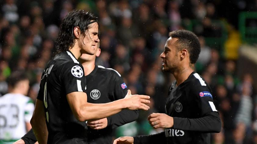 ¿Cómo está la relación entre Édinson Cavani y Neymar?