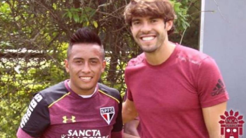 """Kaká sobre Cueva: """"Es un excelente jugador pero se le vincula mucho con lo que hace fuera del campo"""""""