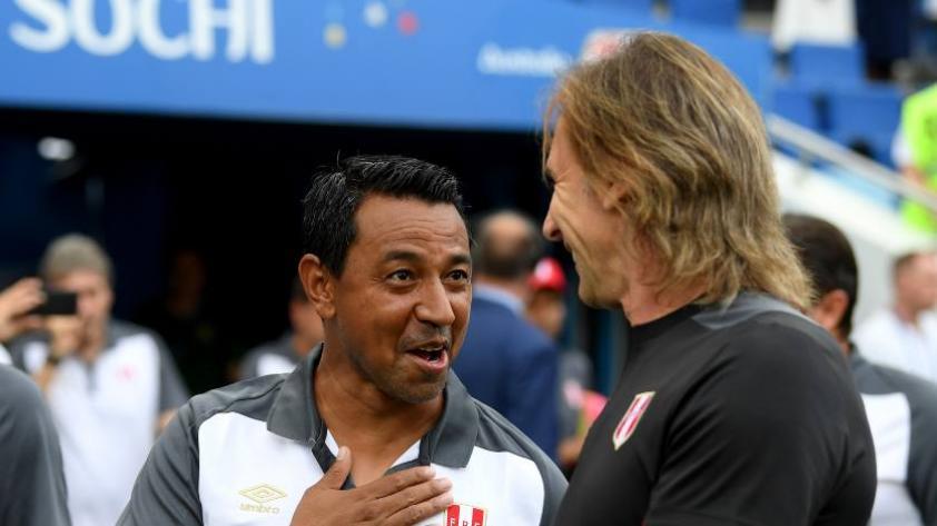 """Solano: """"Nosotros como peruanos rogamos que Gareca se pueda quedar unos años más"""""""