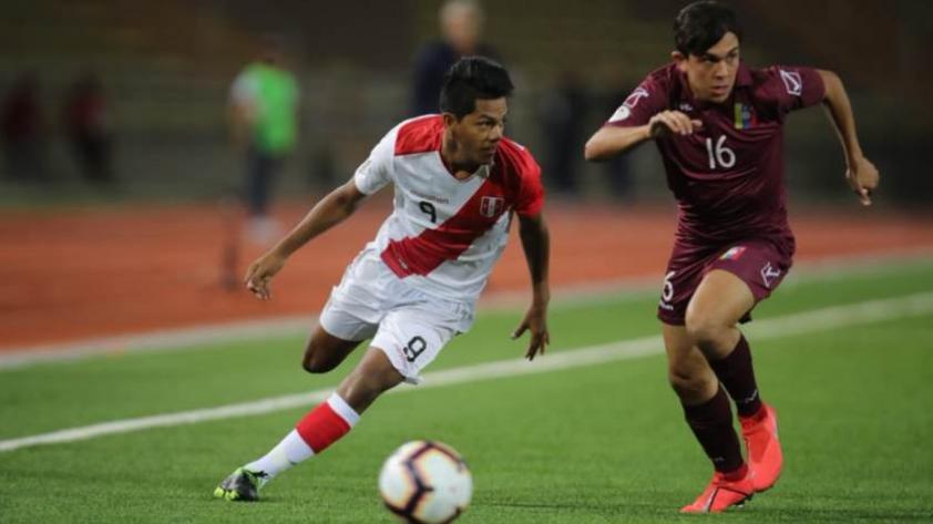 Perú empató 0-0 con Venezuela en el Sudamericano Sub 17