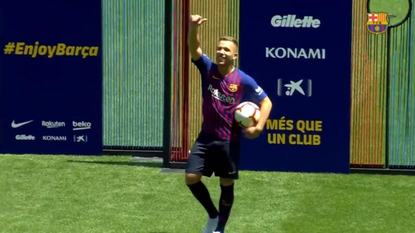 Arthur, nuevo jugador del FC Barcelona: