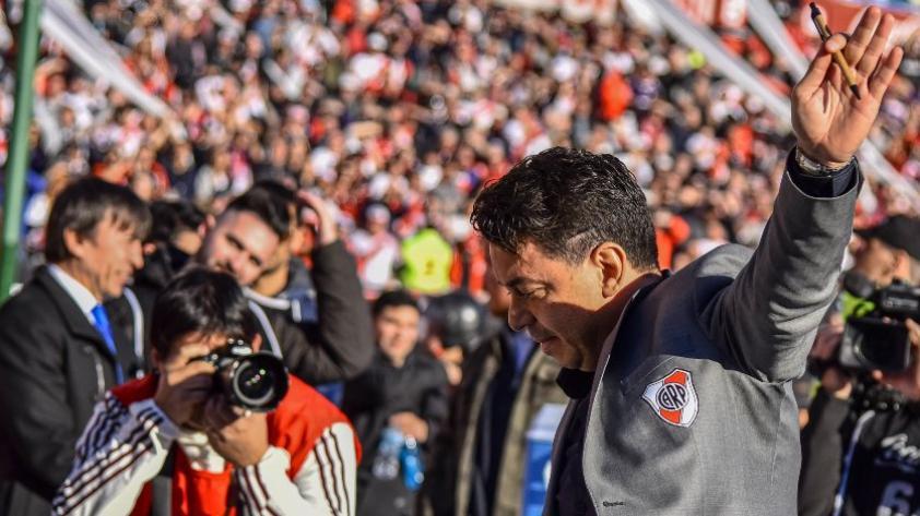 ¿Se va de River Plate?: Marcelo Gallardo suena como futuro DT para el  FC Barcelona (VIDEO)