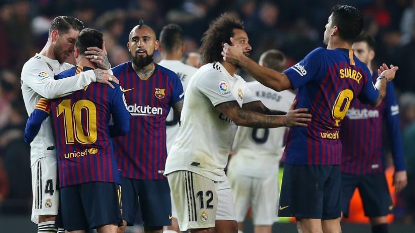Barcelona igualó 1-1 con Real Madrid por el partido de ida de las semifinales de la Copa del Rey