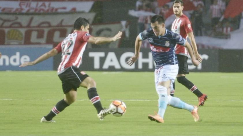 Real Garcilaso cayó goleado 3-0 ante Estudiantes de La Plata por Copa Libertadores