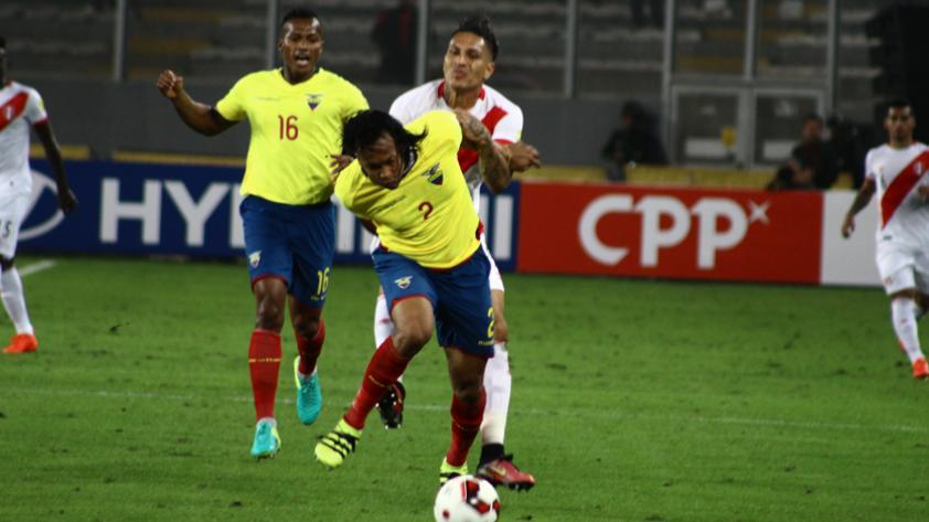 Ecuador tendrá hasta seis bajas importantes frente a Perú