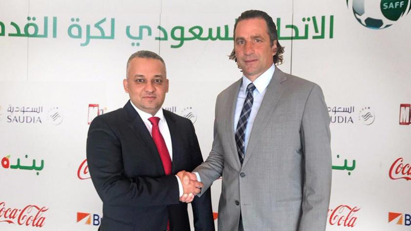 Juan Antonio Pizzi dirigirá a Arabia Saudita en Rusia 2018