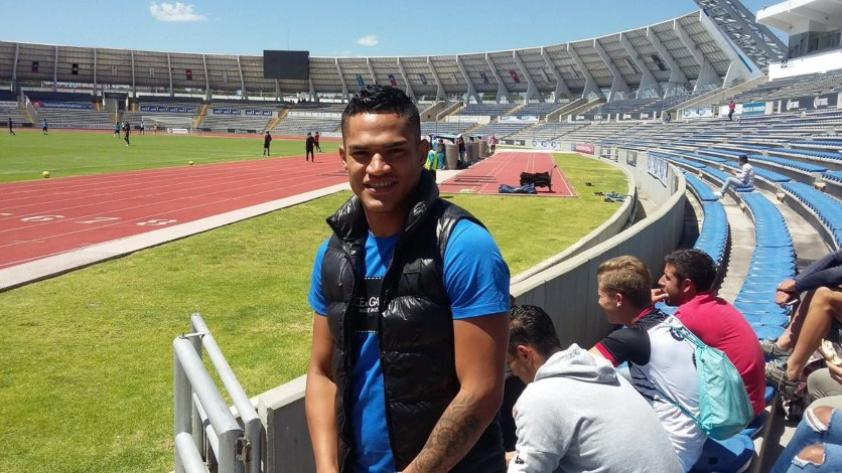 Anderson Santamaría se reincorpora al Puebla de México