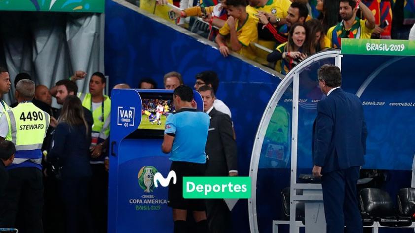 Roberto Tobar, árbitro de la final de la Copa América, da las razones por las que sancionó los dos penales