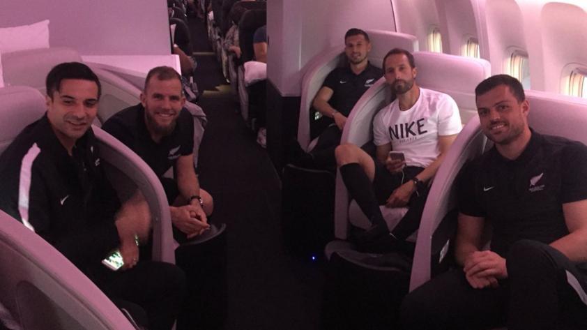 Repechaje: Nueva Zelanda llegó a Lima y esta mañana empezarán los entrenamientos