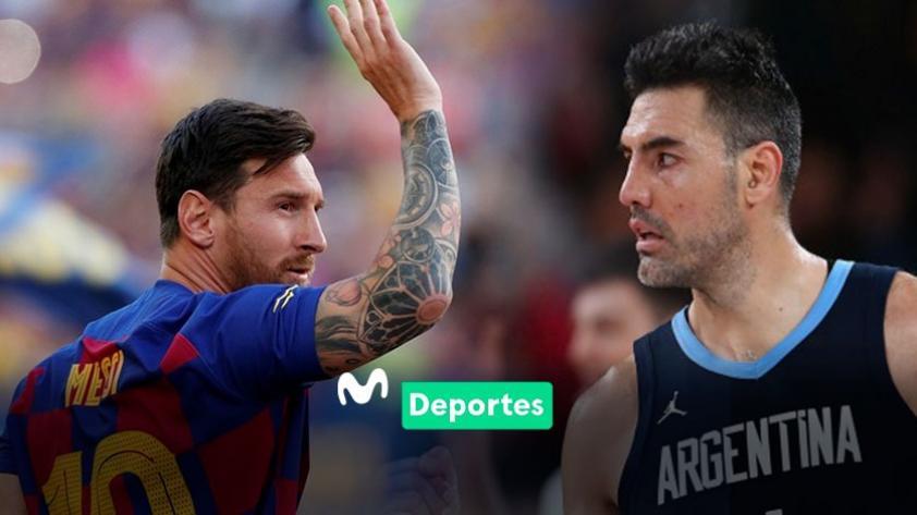 La crítica al deporte y los elogios de Luis Scola a Lionel Messi: