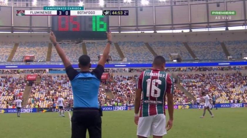 Debut con triunfo: Fernando Pacheco debutó oficialmente con el Fluminense en la victoria ante Botafogo