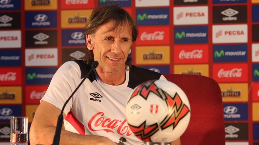 """Ricardo Gareca: """"Ante Nueva Zelanda apuntaremos al mejor resultado posible"""""""
