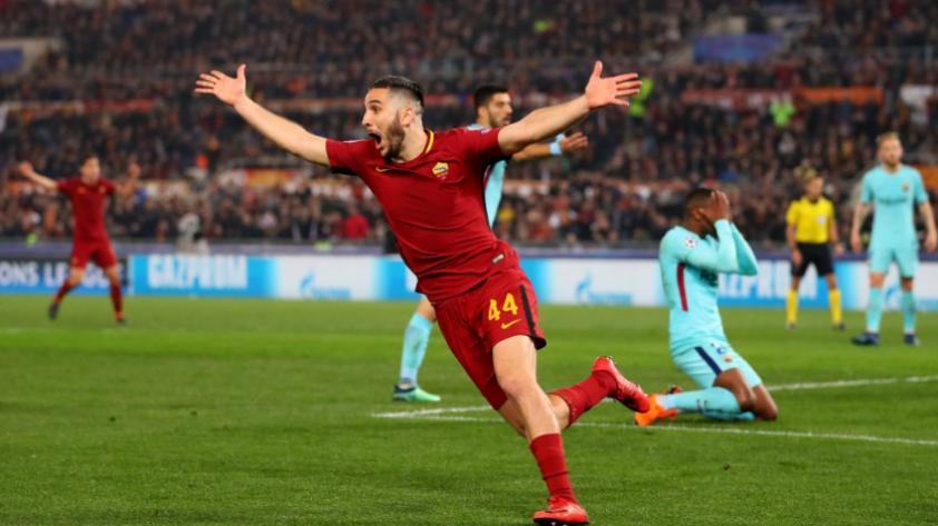 ¡Eliminado! Barcelona cayó 3-0 ante Roma y quedaron fuera de la Champions League