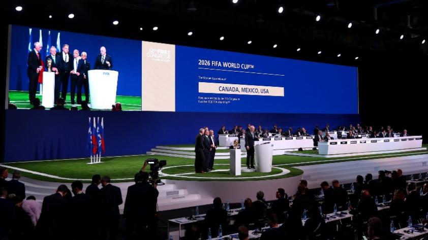 United 2026: El mundial del 2026 será en Canadá ,México y Estados Unidos  y con 48 equipos (VIDEO)