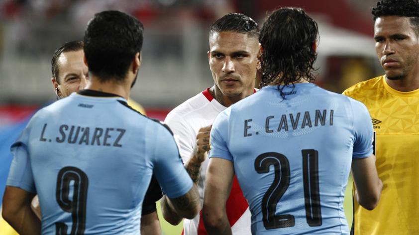 Perú vs. Colombia: hinchas uruguayos muestran su apoyo a la 'Blanquirroja'