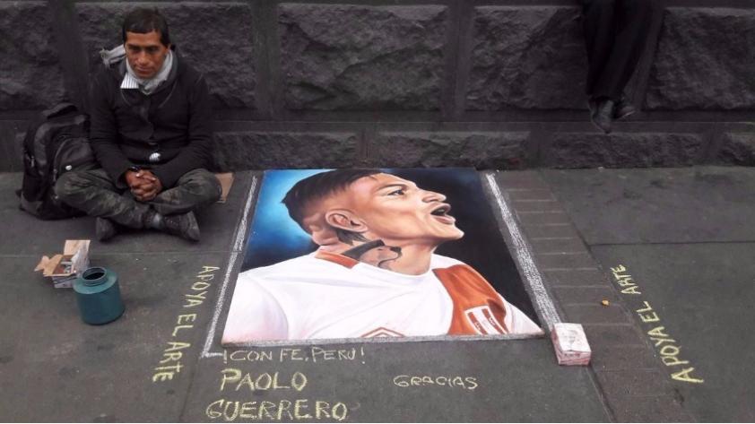 Paolo Guerrero: apoyo masivo de hinchas al delantero de la Selección Peruana