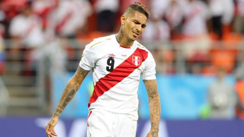 """Paolo Guerrero: """"Hay tristeza porque hubo situaciones de gol"""""""