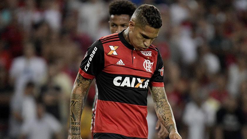 Selección peruana y Flamengo enfrentados por Paolo Guerrero